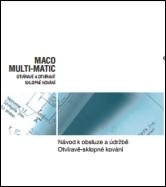 Návod MACO MULTI-MATIC